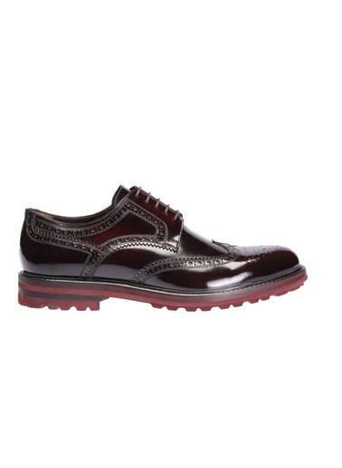 İnci %100 Deri Klasik Ayakkabı Bordo